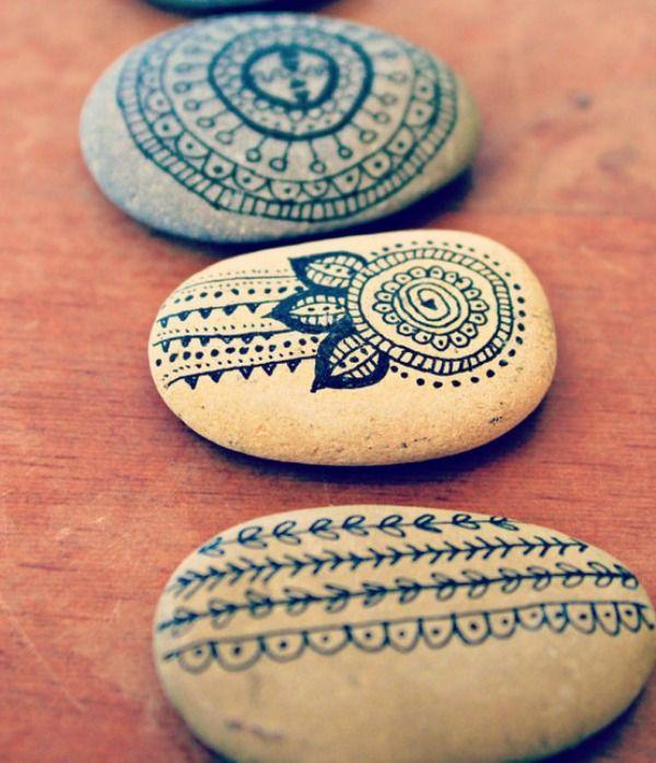 gedecoreerde stenen