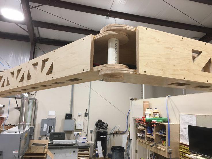 Homemade Articulating Wall Mounted Boom Arm 16 Reach In 270 Degree Arc Festool