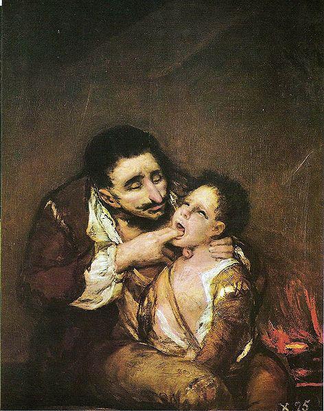 LAZARILLO Y LA NOVELA PICARESCA---por Francisco de Goya