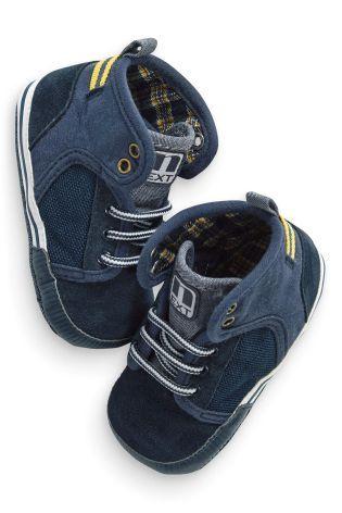 Темно-синяя обувь для малышей 399 Next: Россия