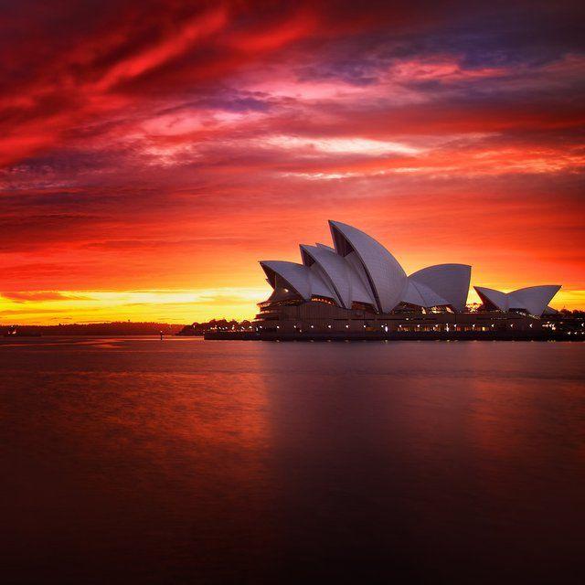 Sydney: Bucketlist, Buckets Lists, Sunsets, Sydney Opera House, Sydney Australia, Sunri, Places, Photo, Golden Hour