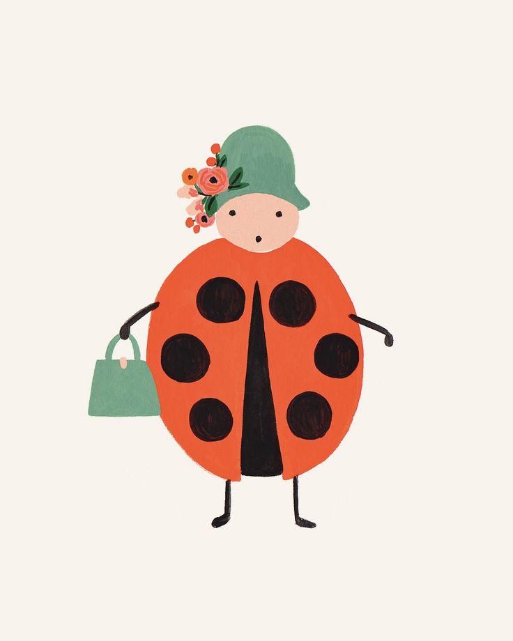 Bug Print- Ladybug