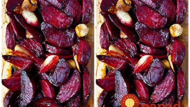 Pečená červená repa s cesnakom podľa Jamieho Olivera: Úplne najlepšie jedlo z tejto zeleniny, aké som kedy ochutnala!