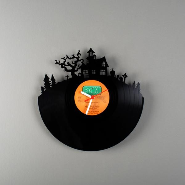 cut out vinyls | Vinyl cut out clocks by Pavel Sidorenko