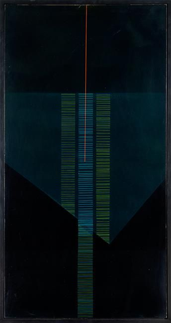 ralph hotere //black painting no 1
