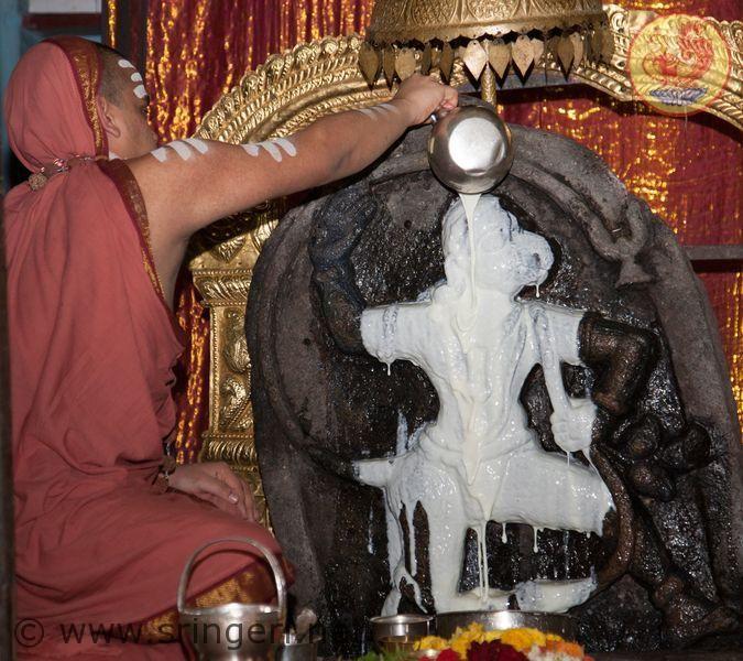 Anjaneya temple Shringeri, Anjaneya swamy is one of the kshetra paalaka (protecting deity) gods of shringeri