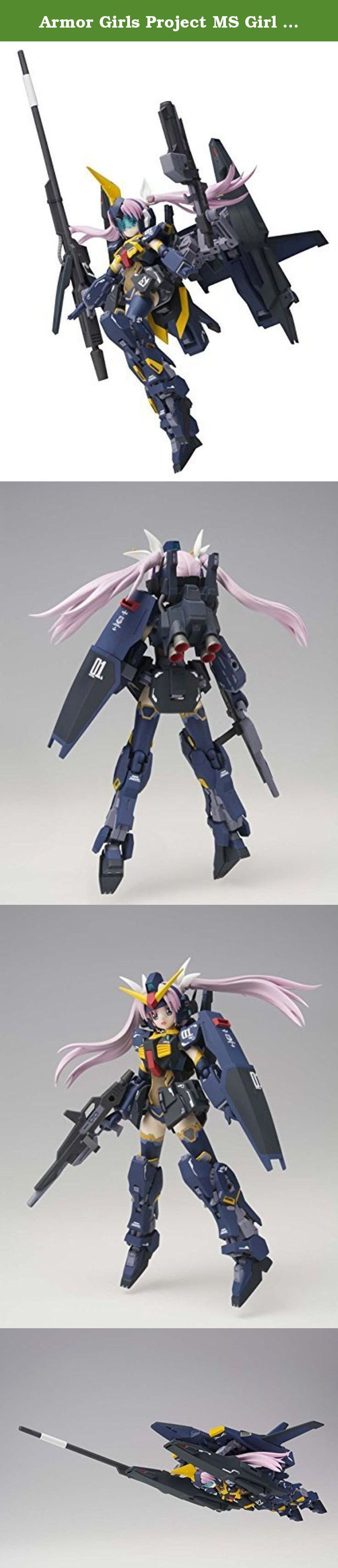 Armor Girls Project MS Girl Gundam Mk-II (Titans specification) about 140mm ABS & PVC painted action figure. It's shipped off from Japan.