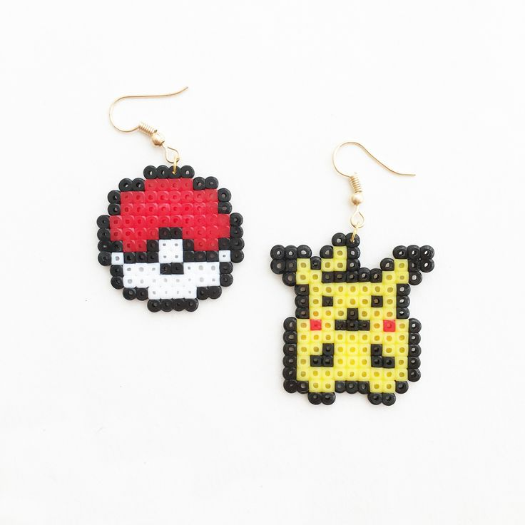Girly Girl Boutique Earrings on Girly Girl の To Alice.Handmade Cute Pixel Cartoon Earrings Harajuku Trendy Eardrop Gg392 is a must to make an amazing outfit. You can wear it in any occasion - school, office, dates, and parties.