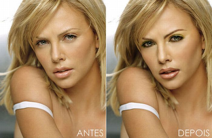 Celebrity photo retouching look guide