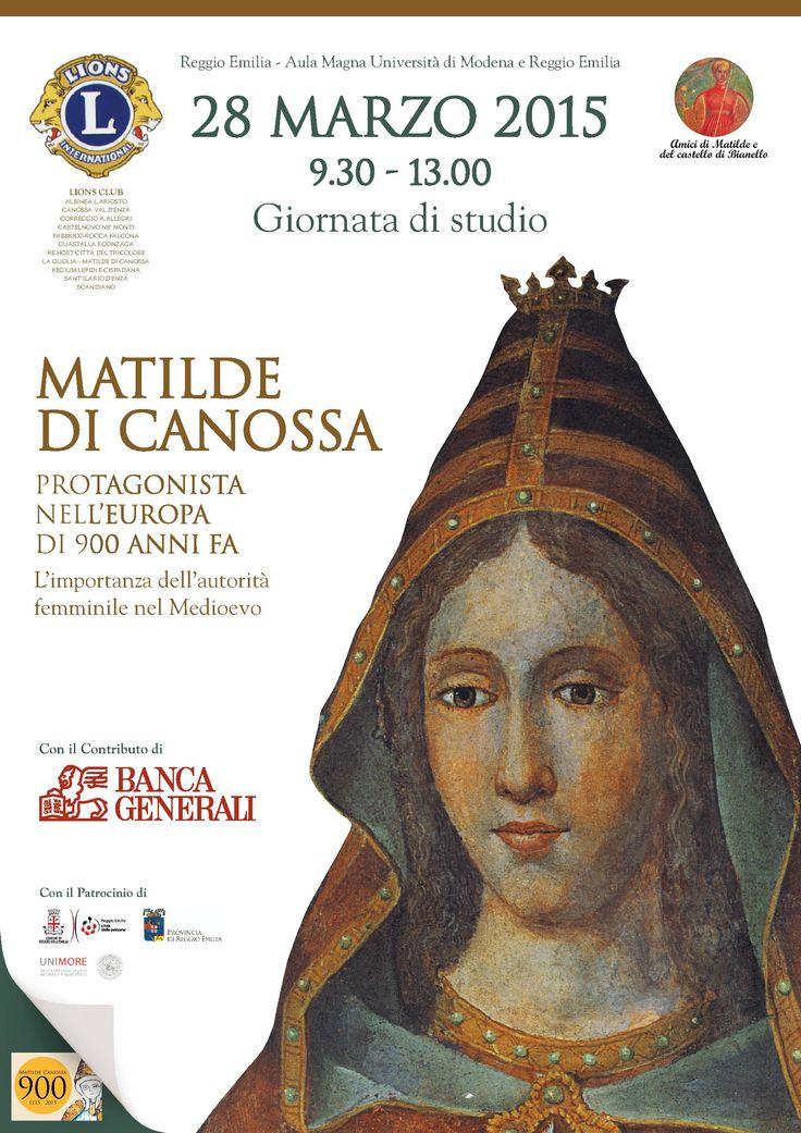 """Italia Medievale: """"Matilde di Canossa. Protagonista nell'Europa di novecento anni fa"""", giornata di studi a Reggio Emilia"""