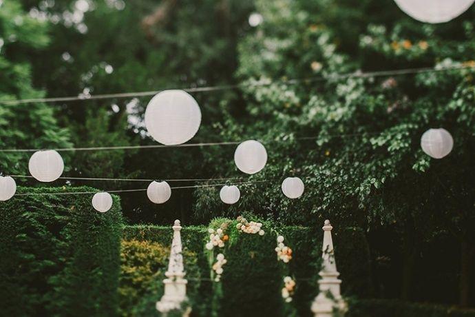 A glam boho garden wedding by Lara Hotz Photography - Wedding Party