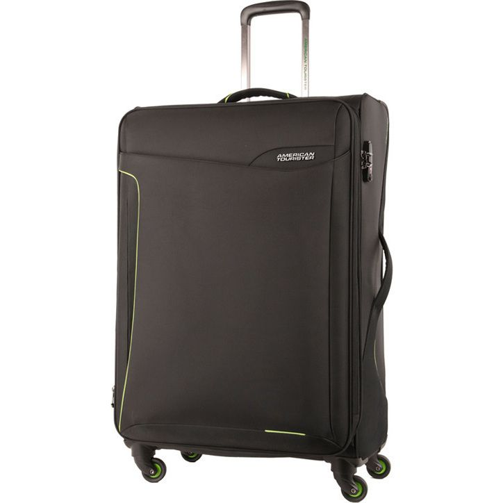 American Tourister Applite Medium Suitcase in Black   Buy 4 Wheel Suitcases