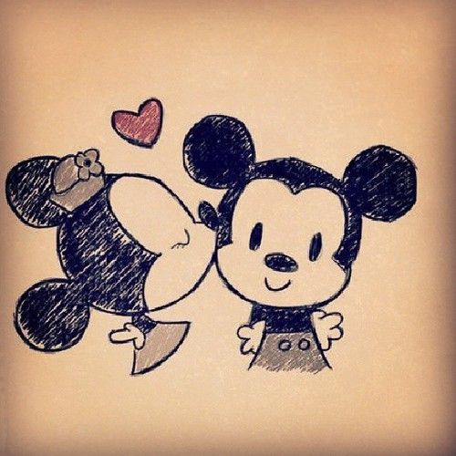 Aww!! So cute!! I love Mickey & Minnie!!