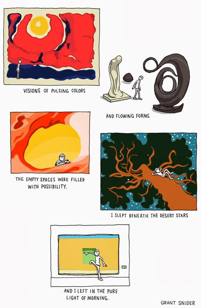 Incidental comics on georgia o 39 keeffe art funny and cute for Mirror quotes in fahrenheit 451