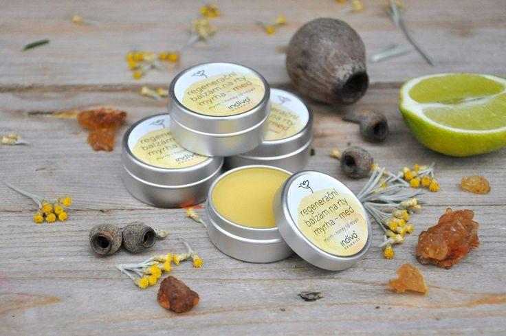 Intensive lip repair balm with manuka honey 💛