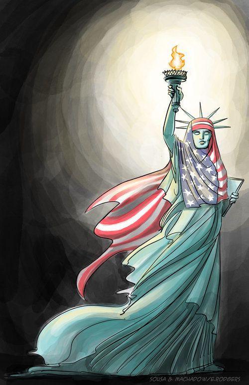 Trump's Muslim Ban Inspires An Incredibly Satisfying Viral Comic   The Huffington Post