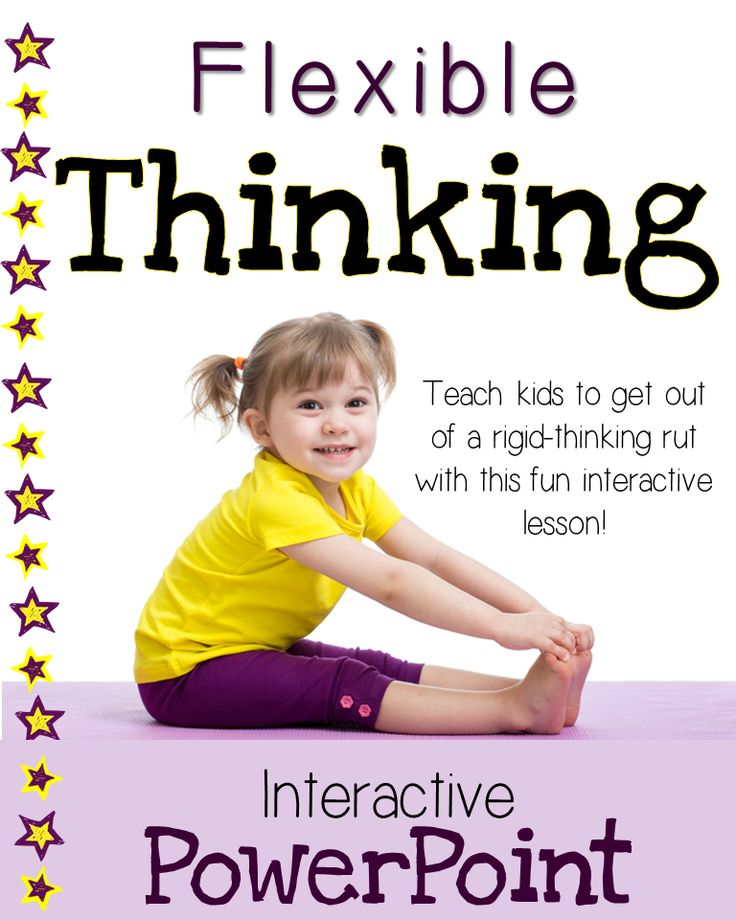 Flexible Thinking Interactive PowerPoint- Help kids get out of rigid-thinking ruts!