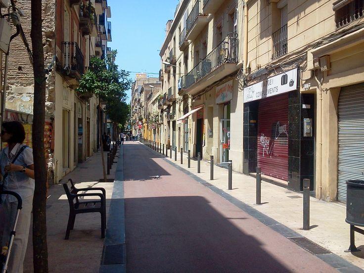 Calle María Aguiló del Barrio PuebloNuevo