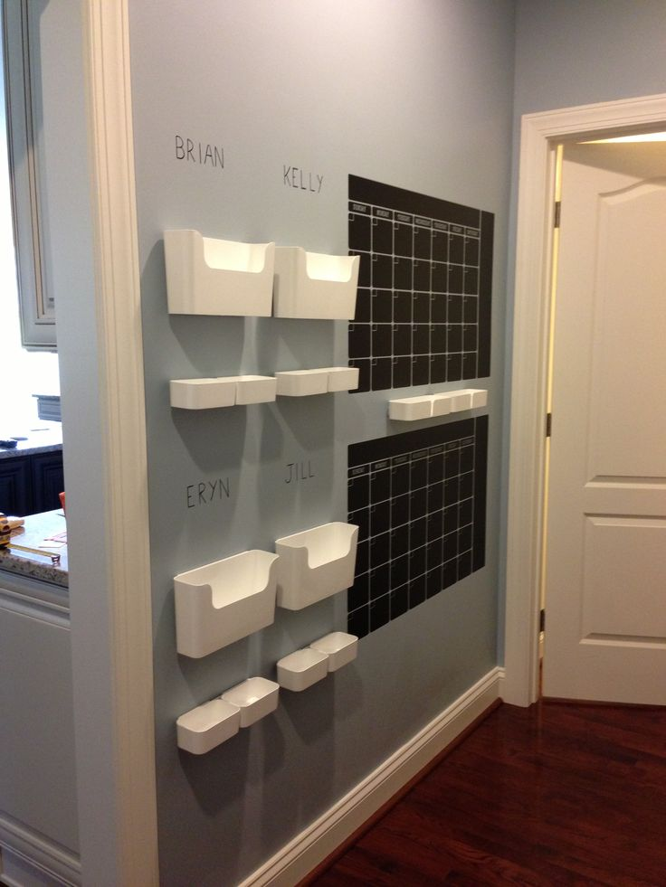 Command Center Wall Decal Chalkboard Calendars From Etsy
