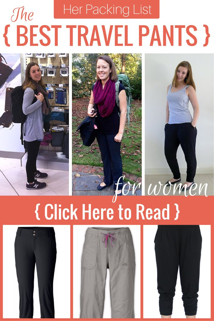 What Are the Best Travel Pants for Women?