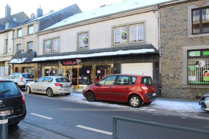 Maison avec commerce à vendre Bertrix Belgique