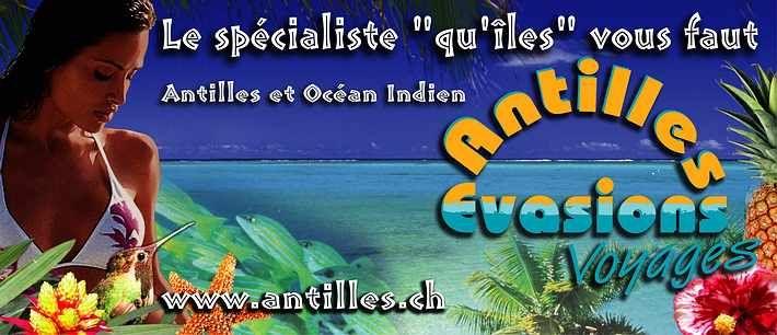 Vacances  Seychelles, Martinique, Guadeloupe, Ile Maurice, La Réunion | http://www.antilles.ch