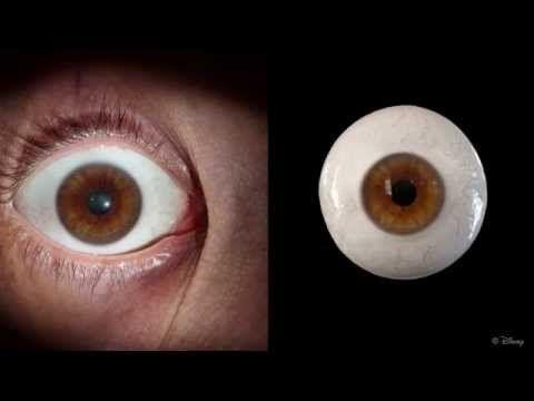 Disney's eyes.