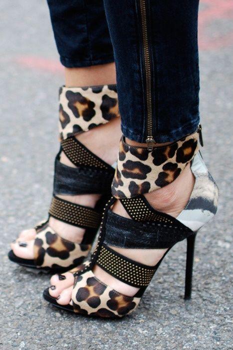 Leopard Heels Design works No.1509 |2013 Fashion High Heels|
