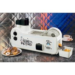 Mini Donut Factory... now this would be one heck of a gift for the donut lover! $147.00