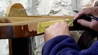 Sistema de trabajo para muebles que presentan faltas en el chapado