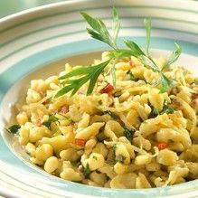 Tupperware - Spätzle aglio e olio