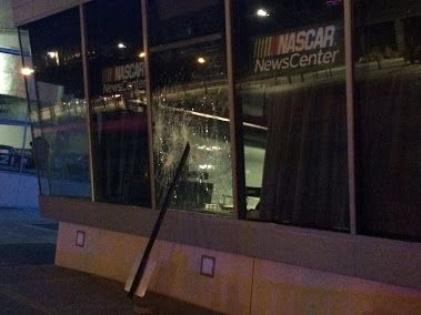 Nascar Hall of fame was looted during a night of rioting. #LONZOSPORTSGEAR #INSTABLOG