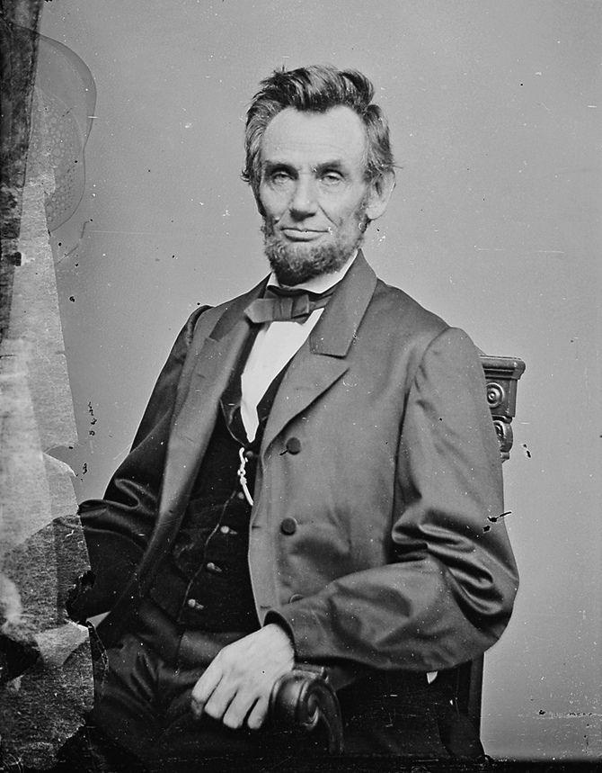 Dashing Abraham Lincoln.