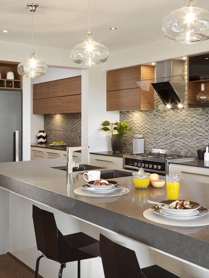 5003 Piatra Grey™ - Carlisle Homes I like this dark grey benchtop.