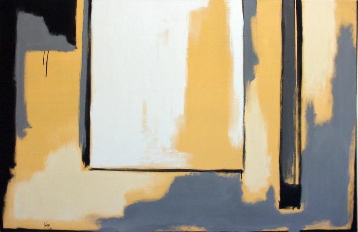 Chema Senra - Realidad Parcial (2013) #art #abstractart #painting