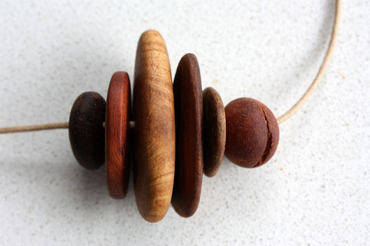 100% recycled Australian wood necklace. Eco friendly. Vegan friendly. Child friendly. Earthy, rustic and totally unique.  https://www.etsy.com/au/listing/208457360/eco-friendly-australian-wood-necklace?ref=shop_home_active_9