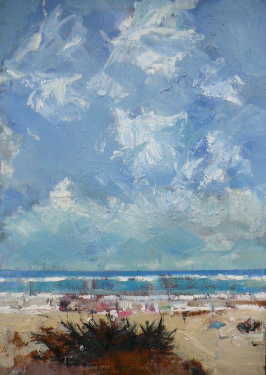 "Saatchi Online Artist: christos tsimaris; Oil, 2012, Painting ""sea view"""