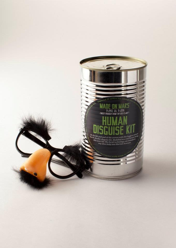 Human Disguise Kit.