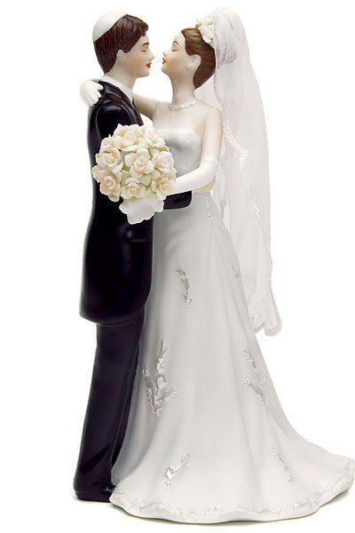 vintage wedding cake topper traditional