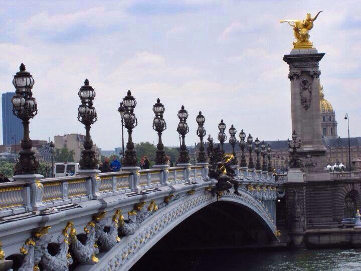 Pont Alexandre III in Paris, France