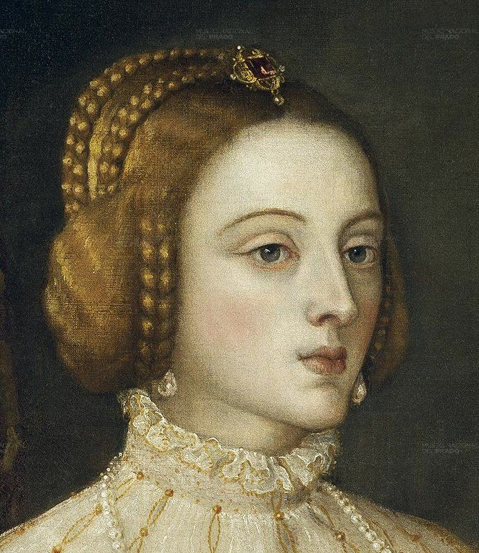 Isabel of Portugal, was queen of Portugal since 1526 to 1539 and married Charles the fifth.