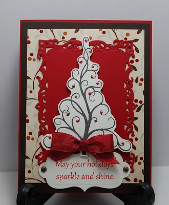 24 best images about show me the stamps on pinterest for Elegant christmas card ideas