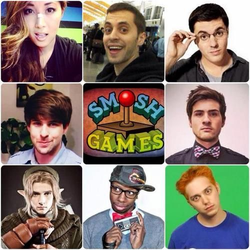 Smosh Games~<< I love these guys! They're funny and are total geeks, like most of us. Can we also admire Wes's cosplay? amAZING.