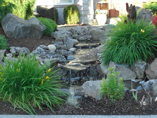 1000 ideas about boulder landscape on pinterest boulder for Landscaping rocks vancouver
