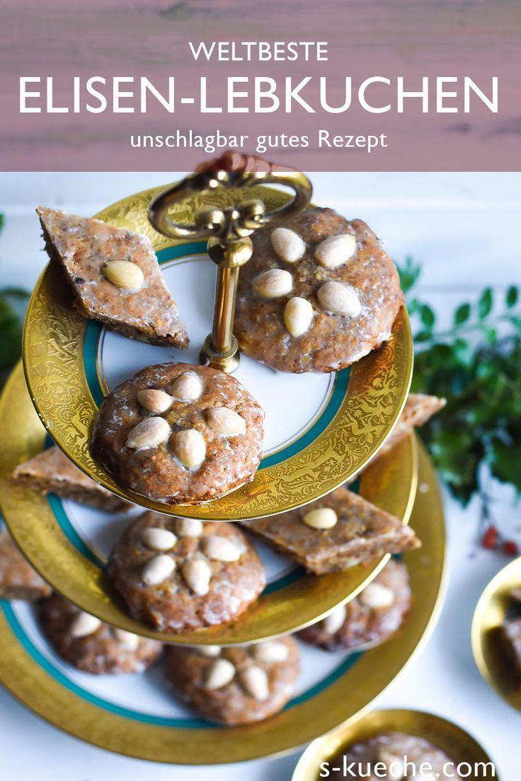 Weltbeste Elisen Lebkuchen – saftig und aromatisch