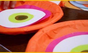 Una civetta per un compleanno multicolor