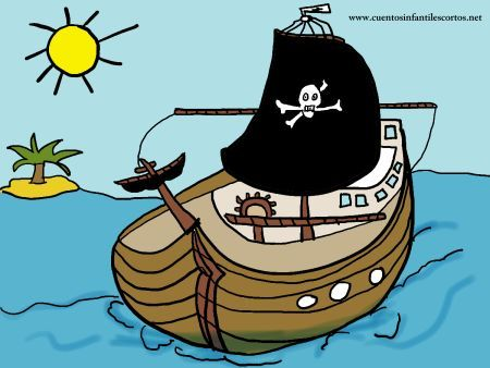 Cuentos infantiles - Los piratas y el tesoro perdido