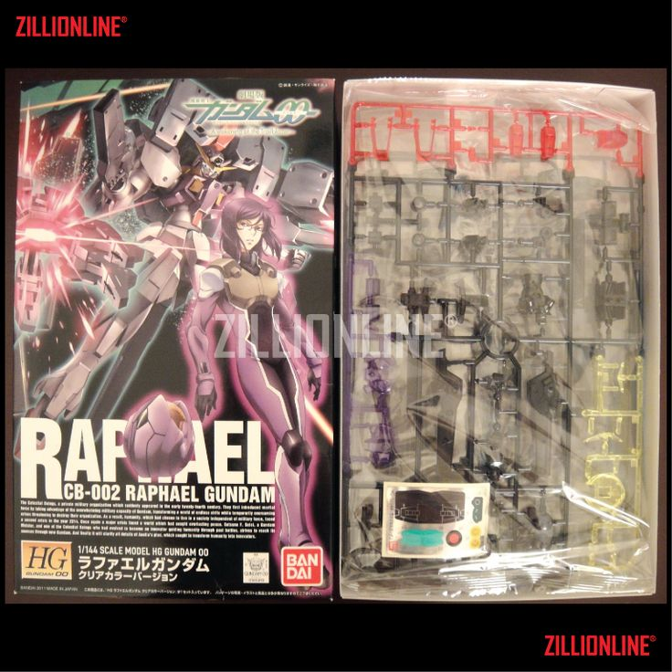 [MODEL-KIT] [P-BANDAI] HG 1/144 CB-002 RAPHAEL GUNDAM [LIMITED CLEAR VER.]. Item Size/Weight : 31 x 19.2 x 8.2 cm / 430g* (*ITEM SIZE & WEIGHT BEFORE PACKAGED). Condition: MINT / NEW & SEALED RUNNER. Made by BANDAI.
