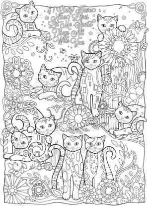 gunston coloring pages   Welcome to Dover Publications Creative Haven Creative Cats ...