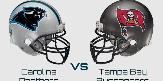 Carolina Panthers AT Tampa Bay Buccaneers